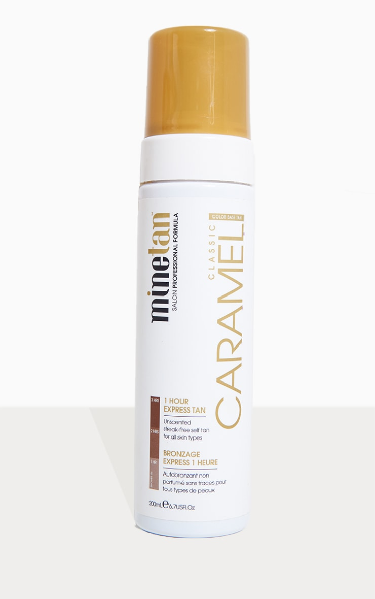 Minetan Caramel Self Tan Foam 1