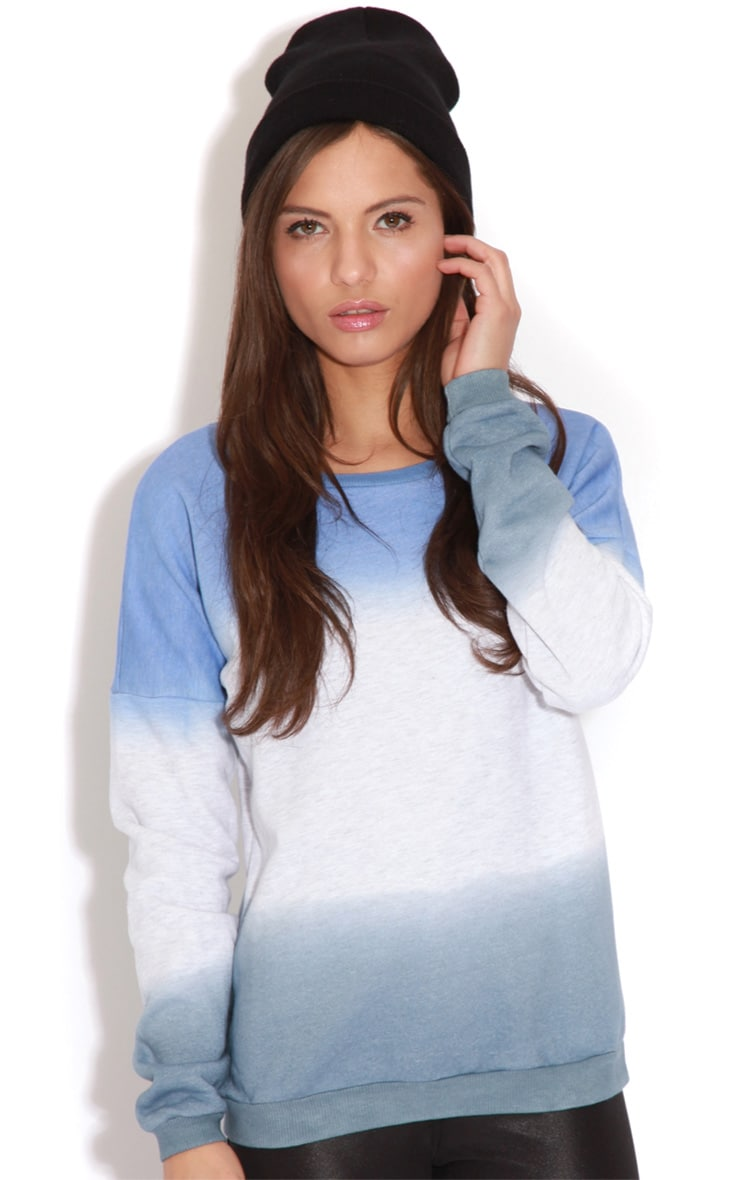 Jenna Green & White Tie Dye Jumper 3