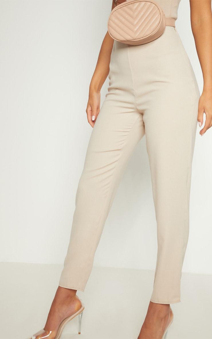 Black Super Skinny High Rise Trouser 4
