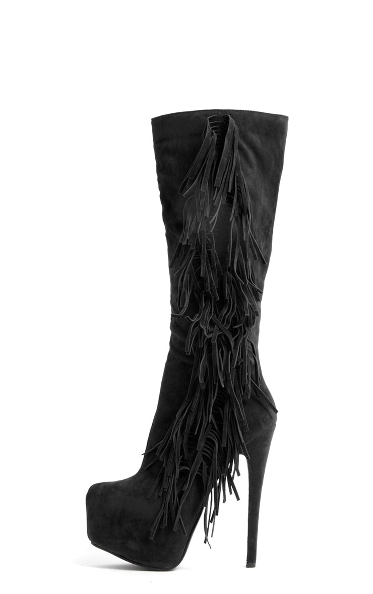 Cierra Knee Length Tassel Boot 1