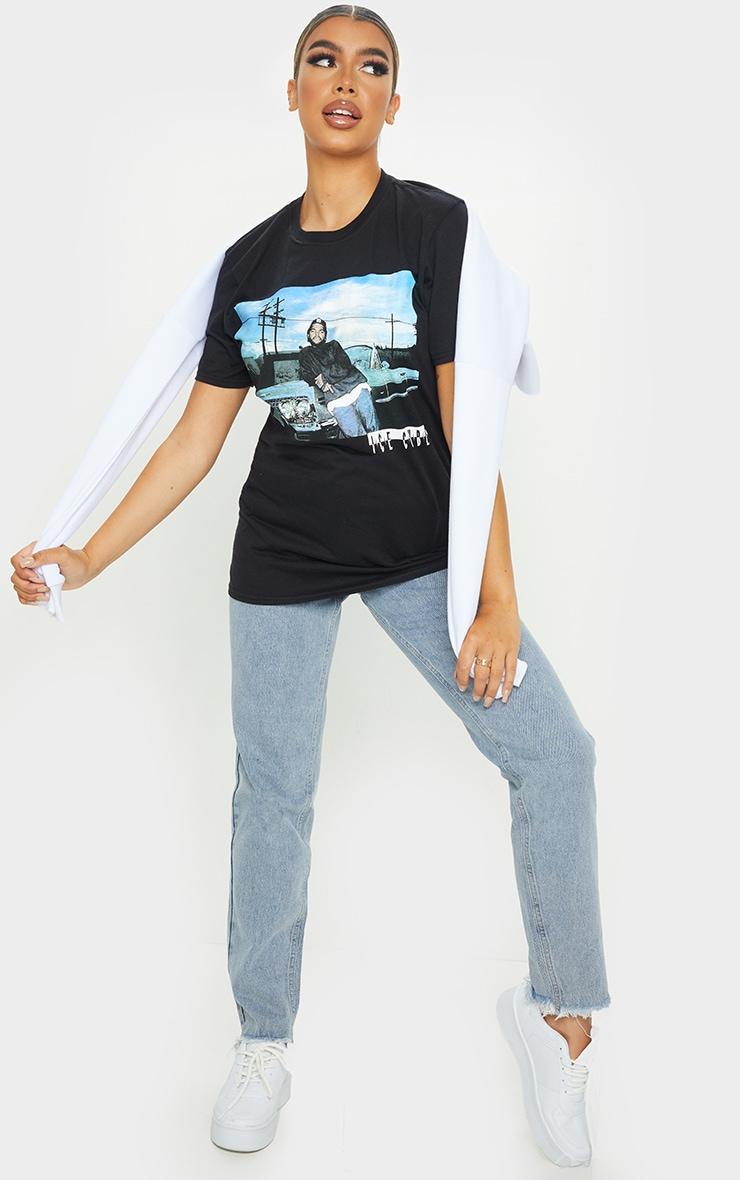 Black Ice Cube Photographic Print T Shirt 3