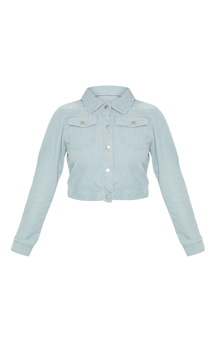 Dusty Blue Cord Jacket 3