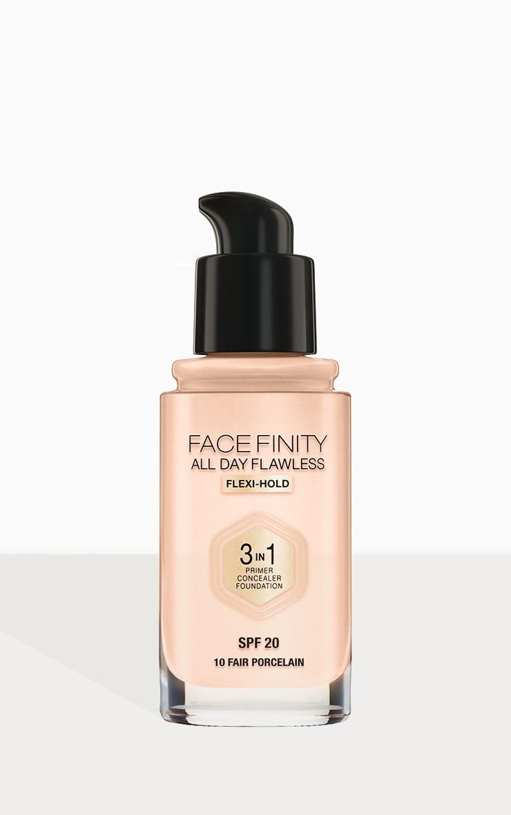 Max Factor Facefinity All Day Flawless Foundation Fair Porcelain 3