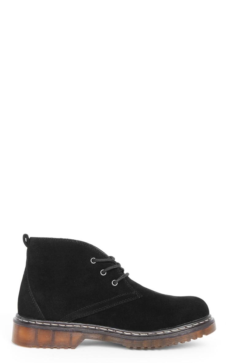 Bianca Black Suedette Desert Boot  5