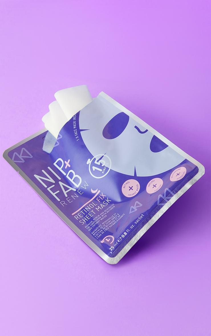 NIP+FAB Retinol Fix Sheet Mask 1