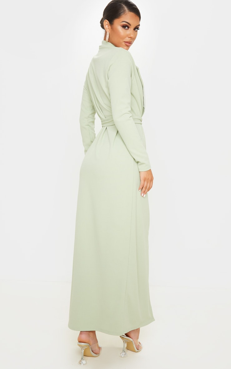 Sage Green Maxi Duster 2