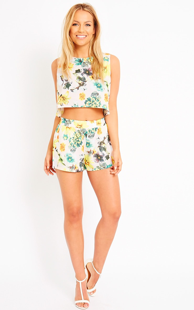 Darby Floral Print Shorts 5