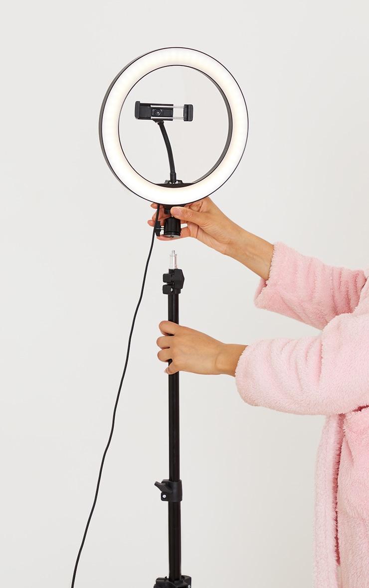 Trépied pour selfie avec anneau lumineux 2