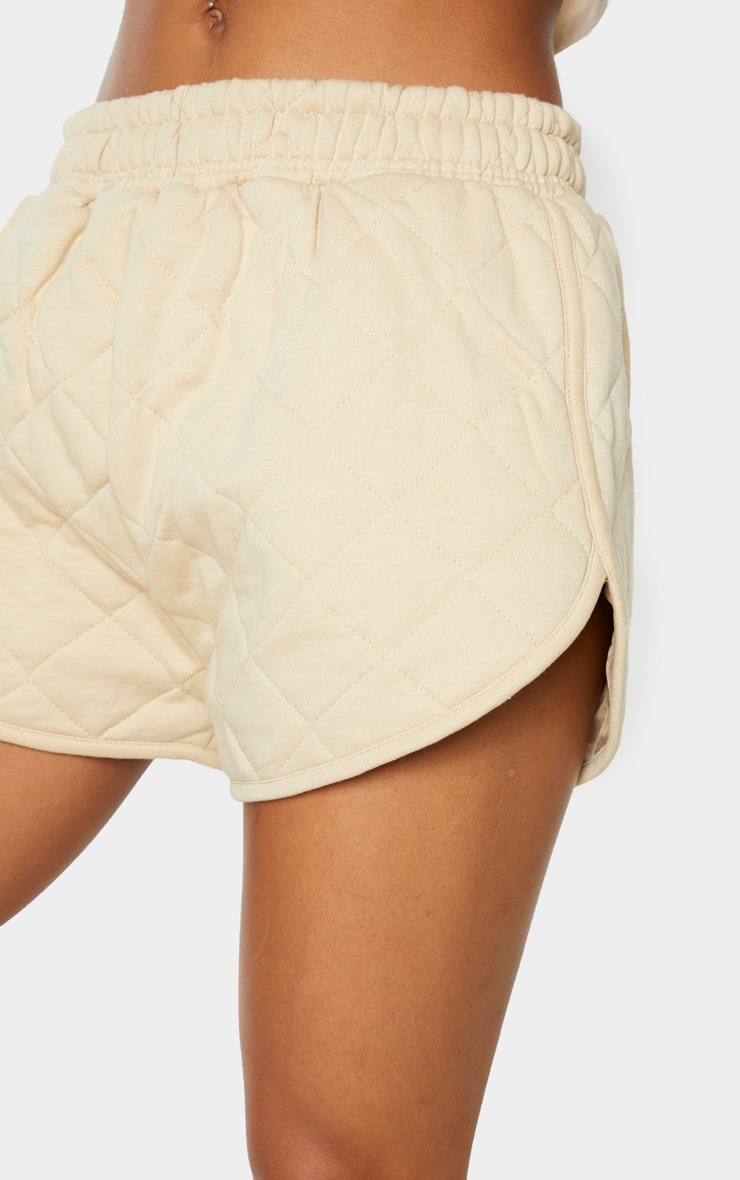 Stone Quilted Runner Short 6