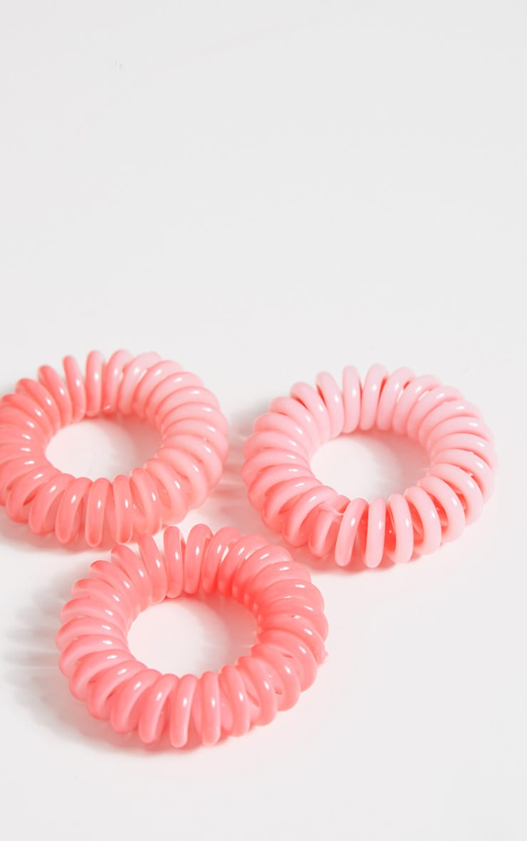 Invisibobble Pink Donut Scented Hair Ties 2