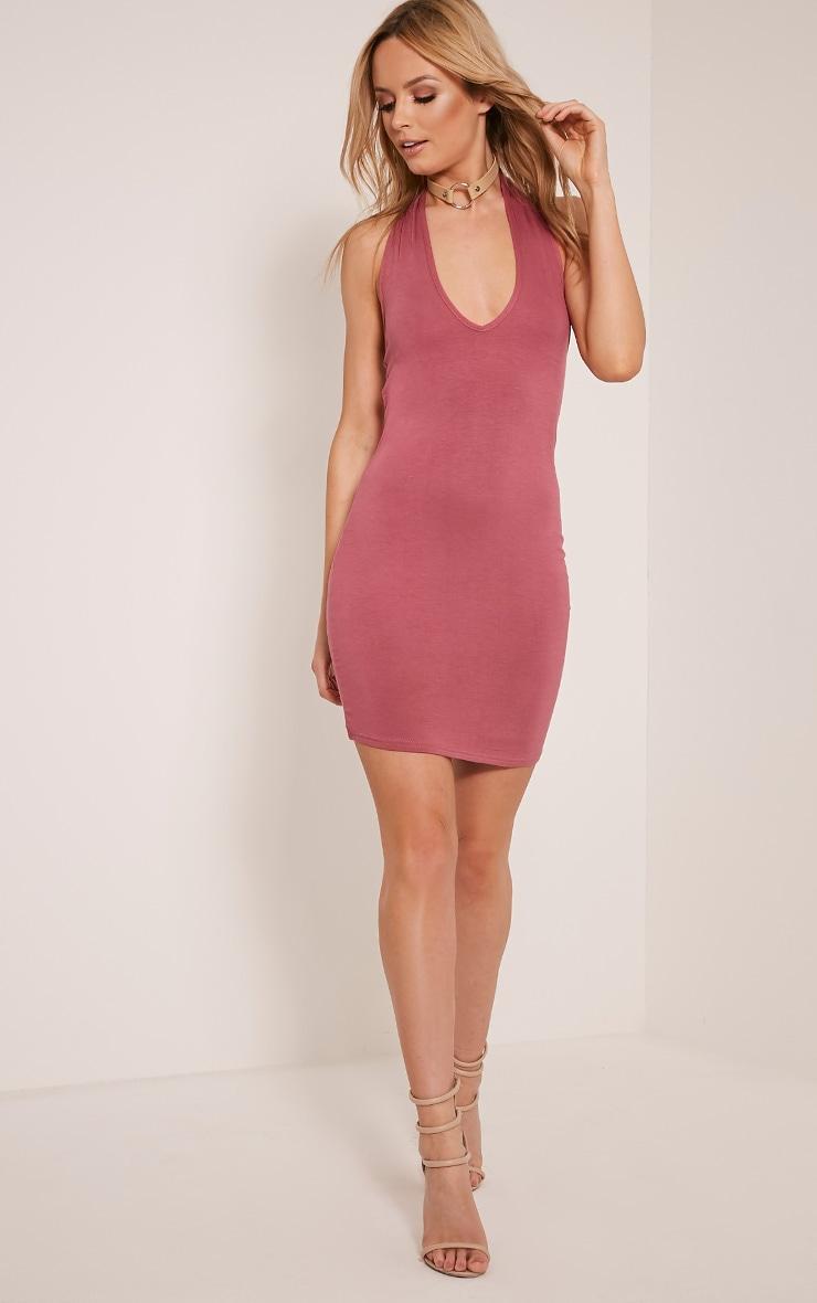 Frankie Rose Halterneck Bodycon Dress 10