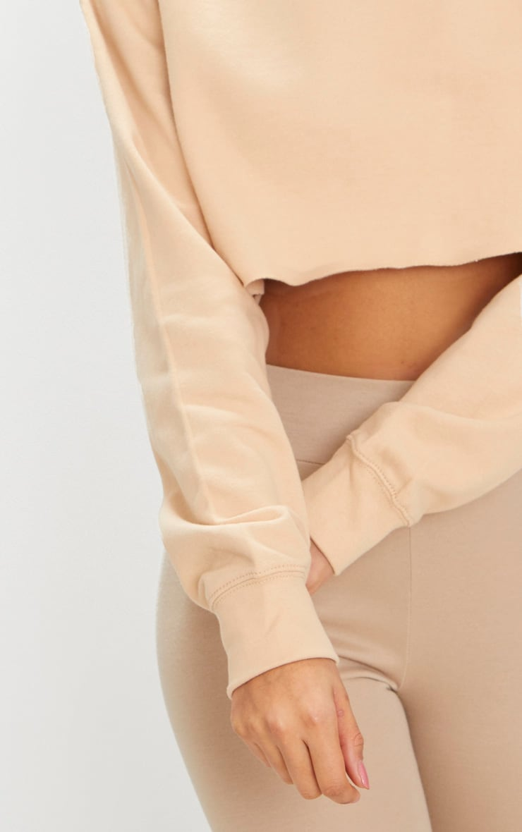 Peach Ultimate Cropped Sweater 4