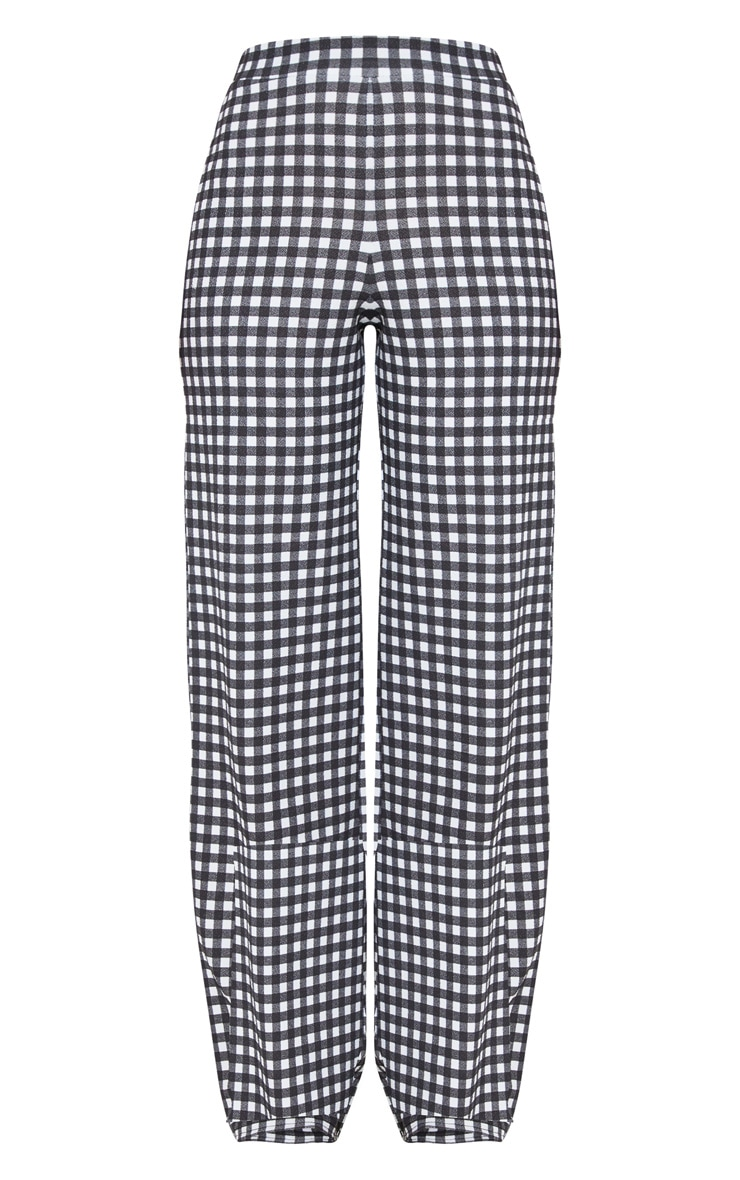 Black Gingham Trouser 3