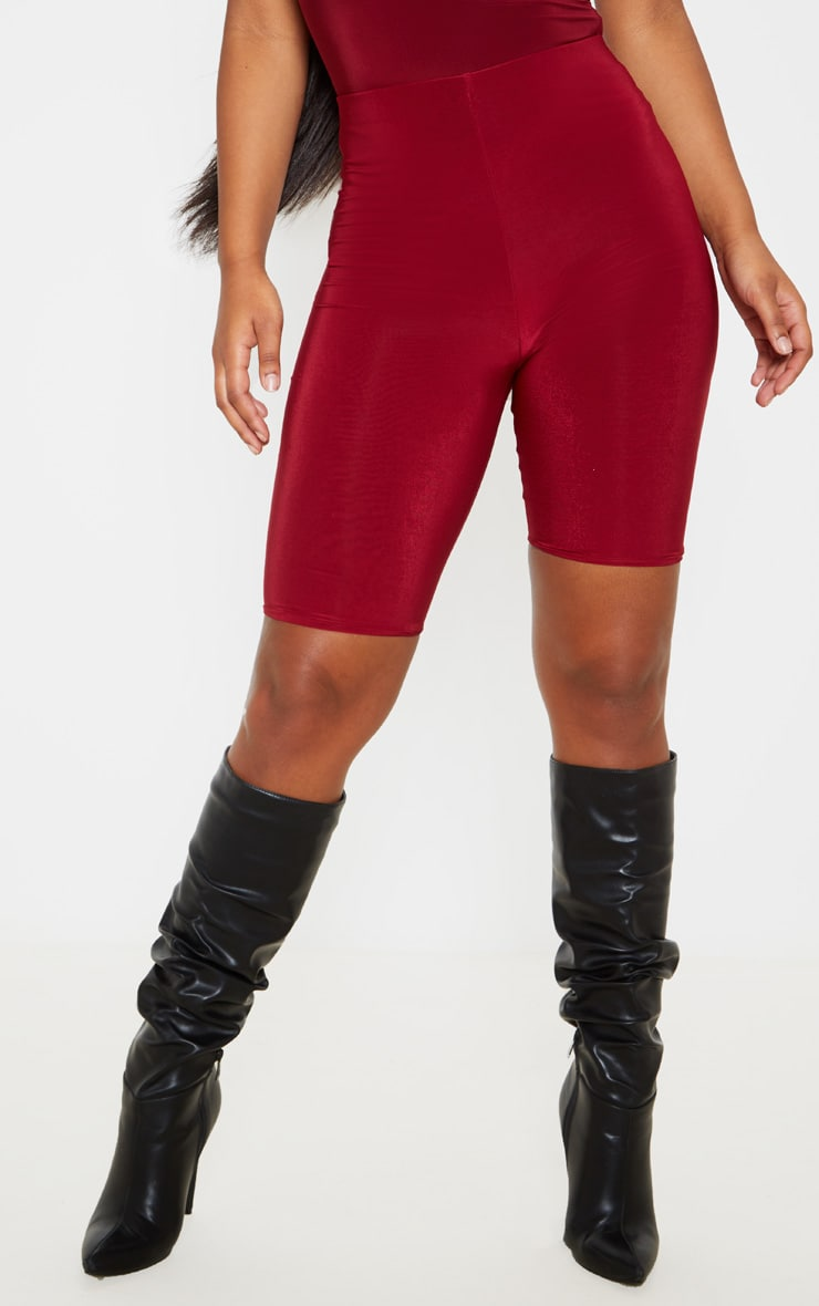 Short-legging slinky long rouge écarlate 2