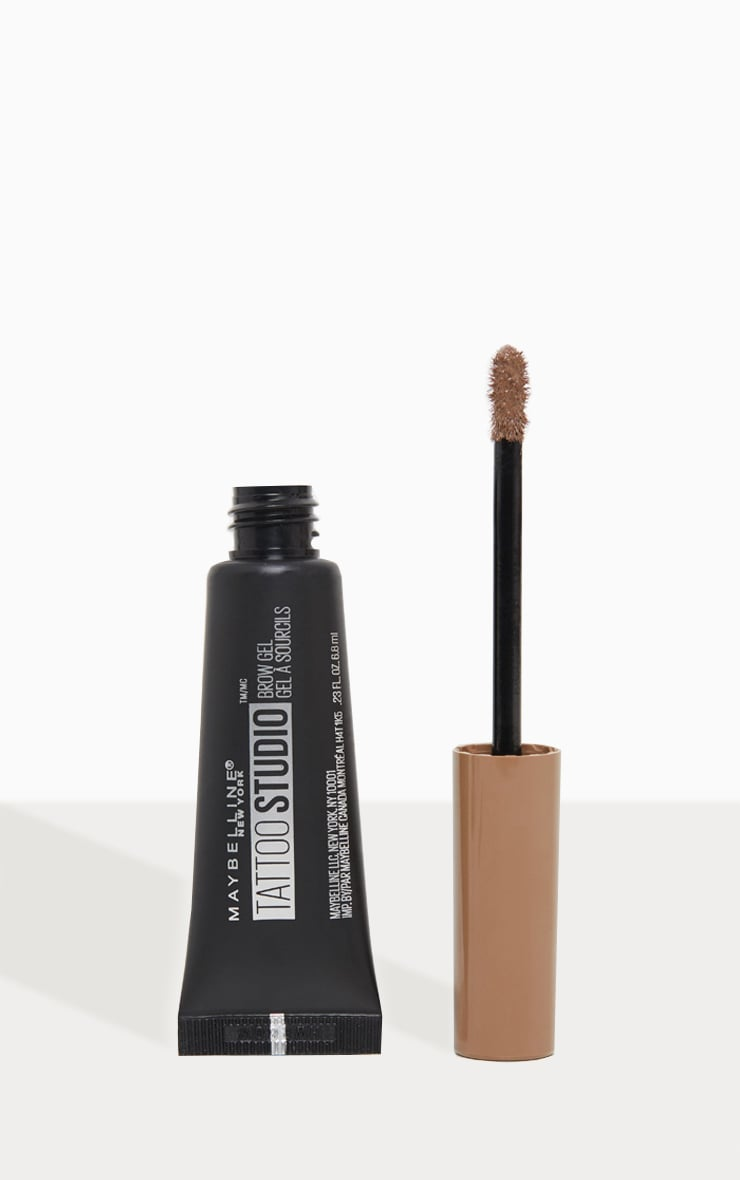 Maybelline Tattoo Brow Waterproof Gel 02 Soft Brown 1