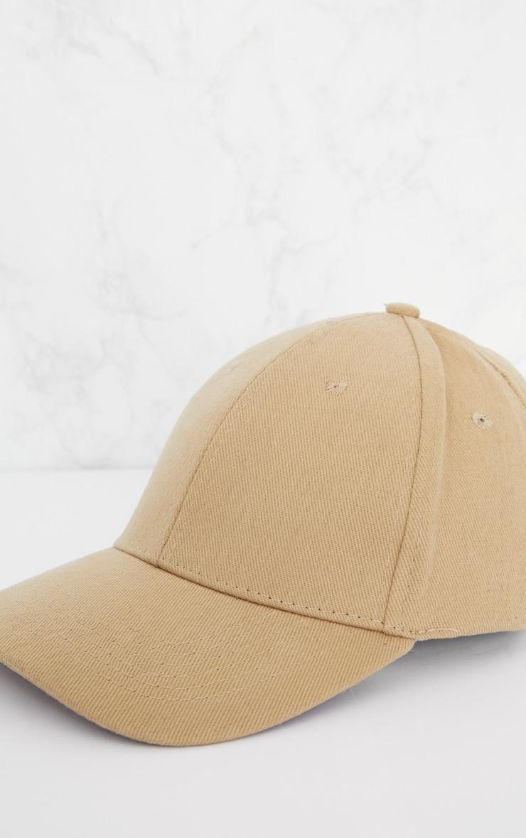 Casquette de baseball beige 5