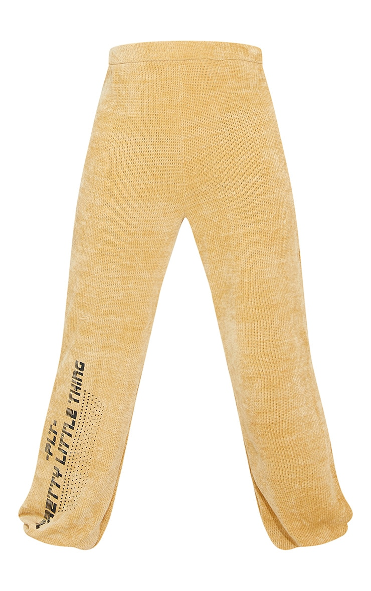 Tall Stone Chenille Oversized Joggers 5