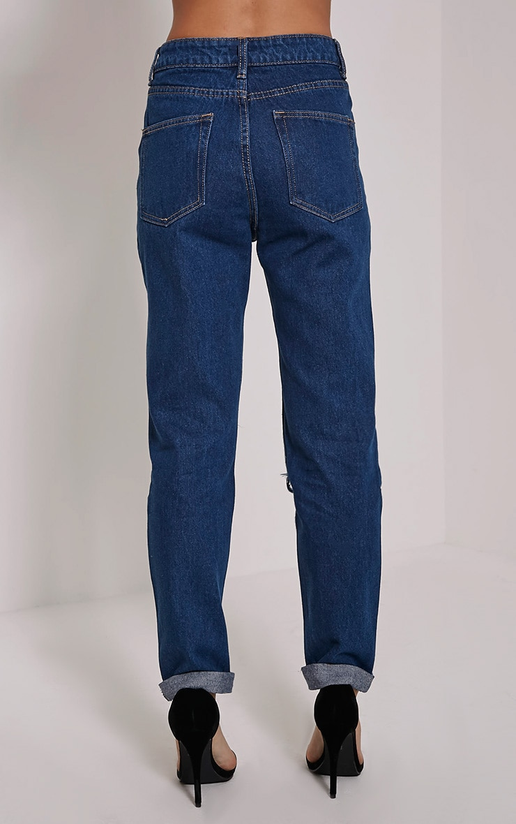 Marri Blue Extreme Rip Jeans 4