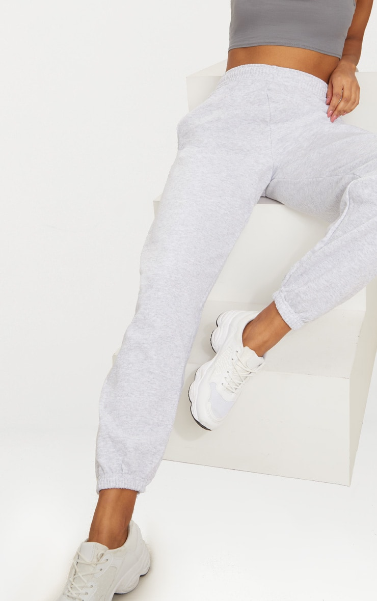 Ash Grey Sweat Track Pants 6