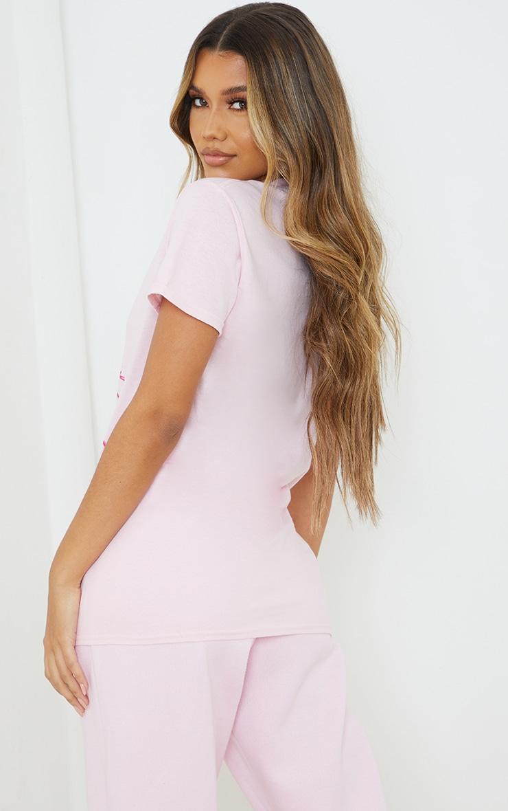 Baby Pink Disney Thumper Printed T Shirt 2