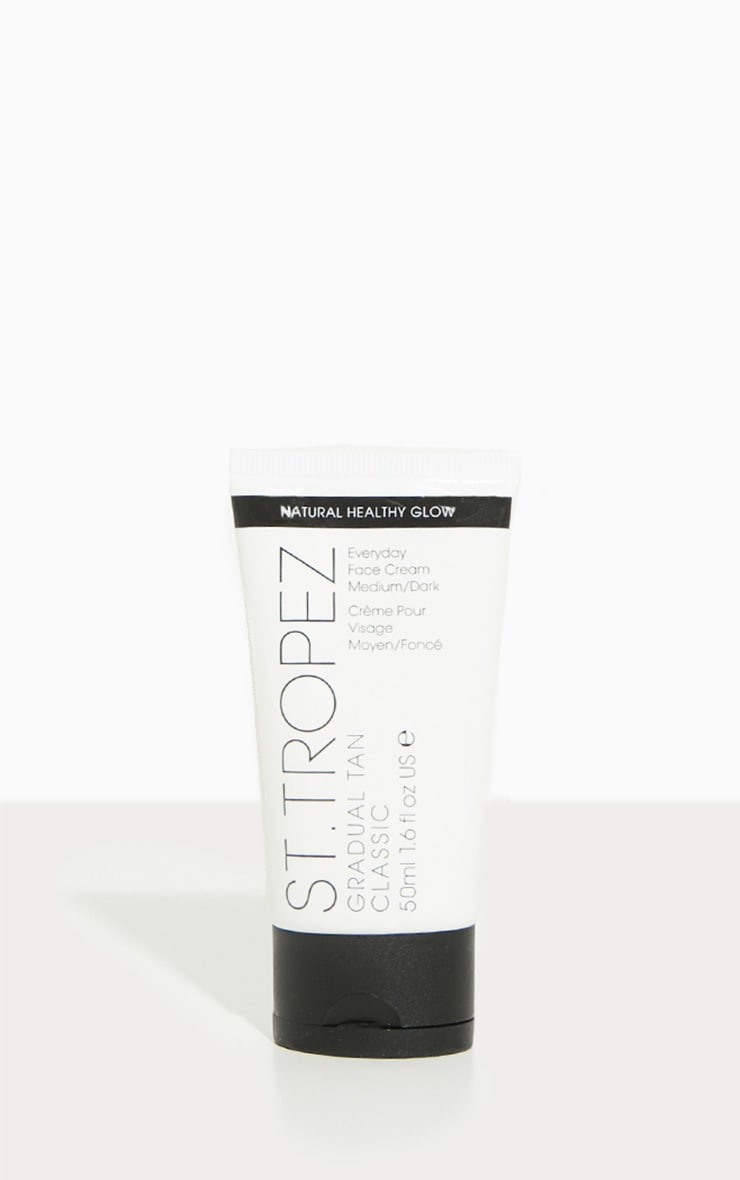 St. Tropez Gradual Tan Face Cream Medium to Dark 50ml 1