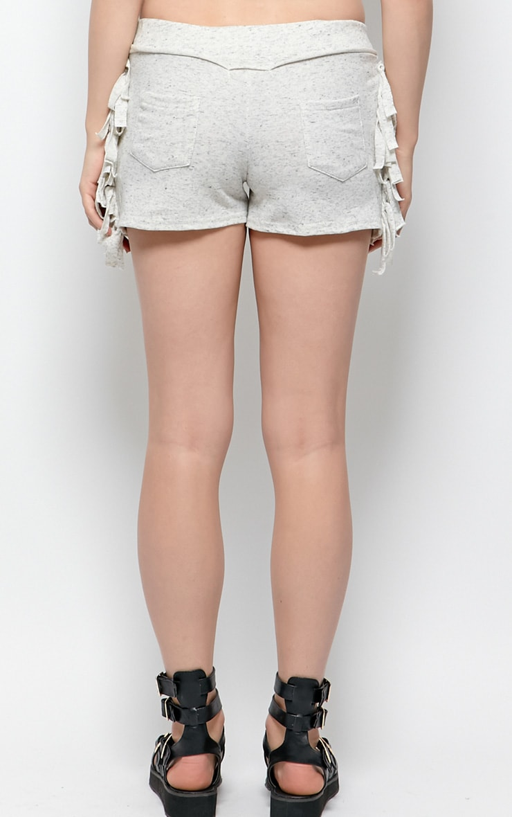 Cammie Grey Jersey Shorts 2