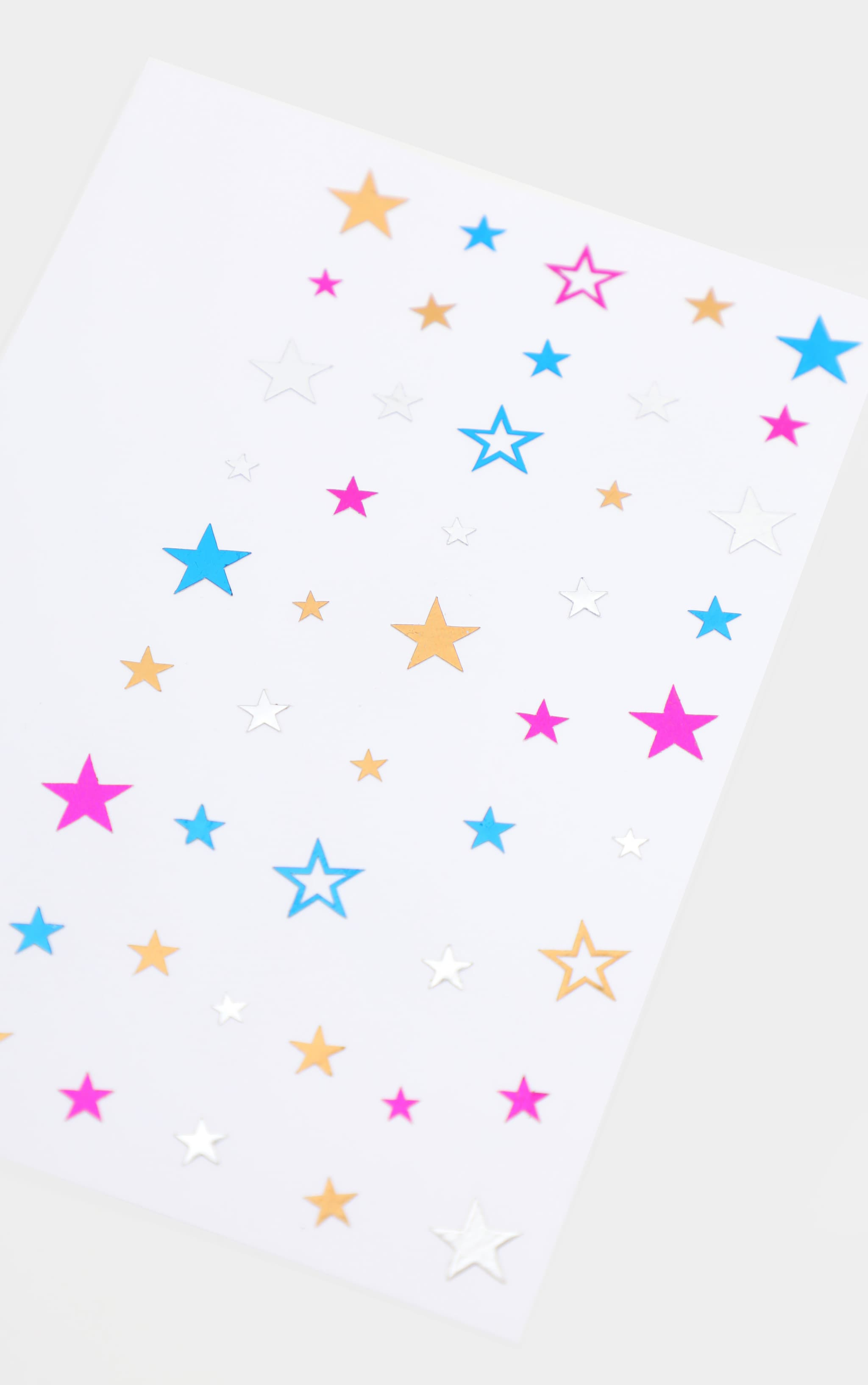PRETTYLITTLETHING Written In The Stars Rainbow Festival Stickers 3