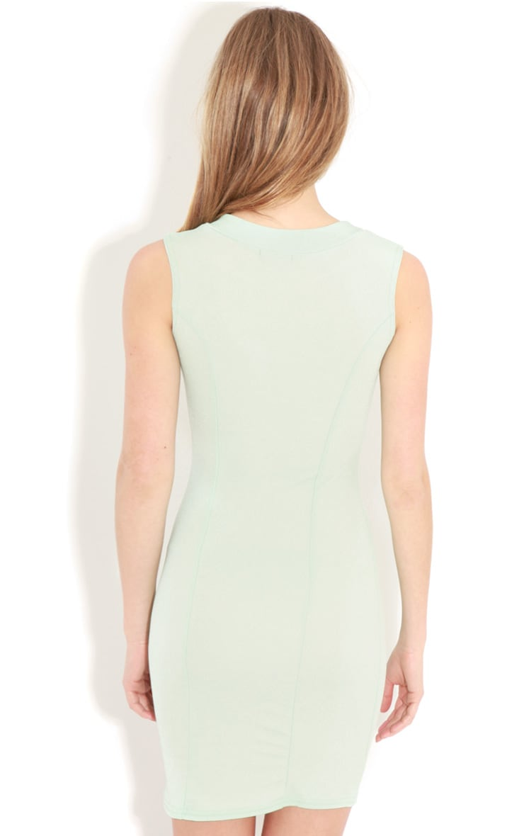Henrietta Mint Tailored Chiffon Dress 2