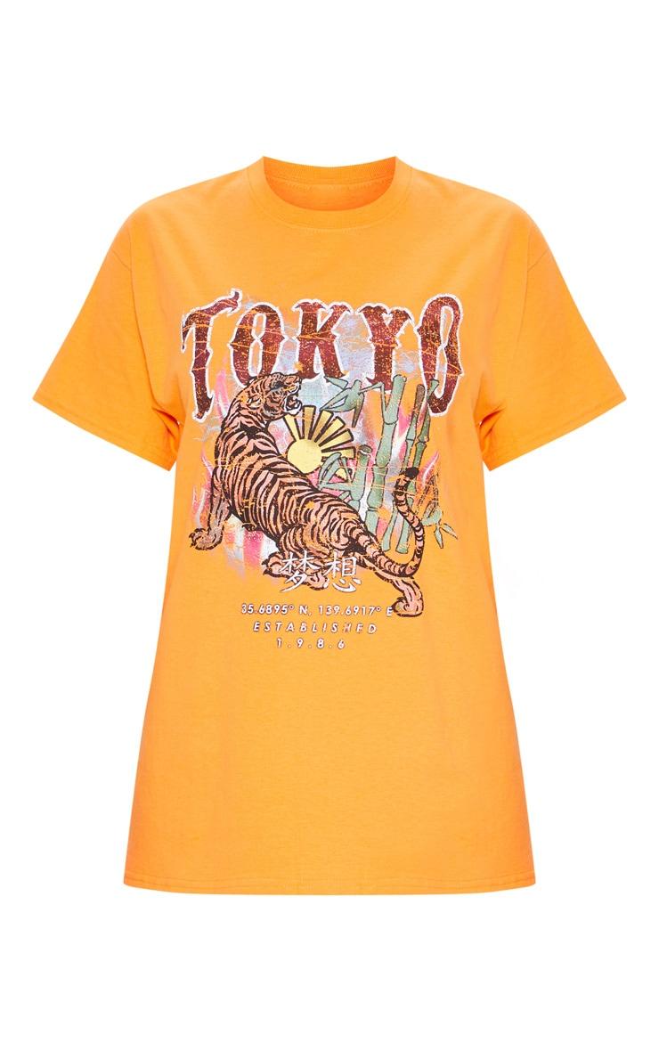 Tangerine Tokyo Oversized T Shirt 3