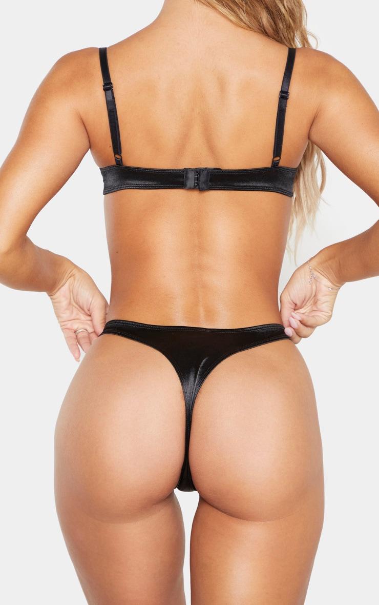 Black Satin Panties 4