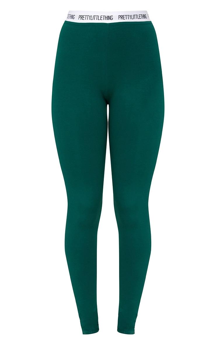 Green Prettylittlething Leggings 3