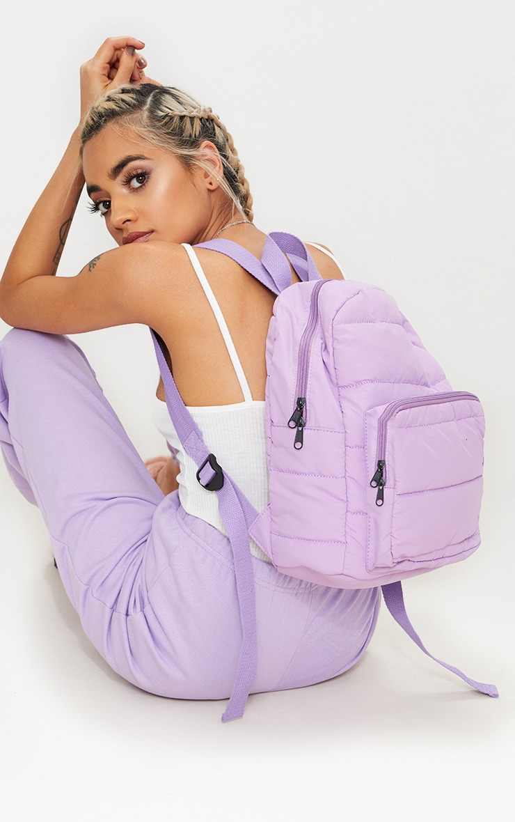 Lilac Backpack 3