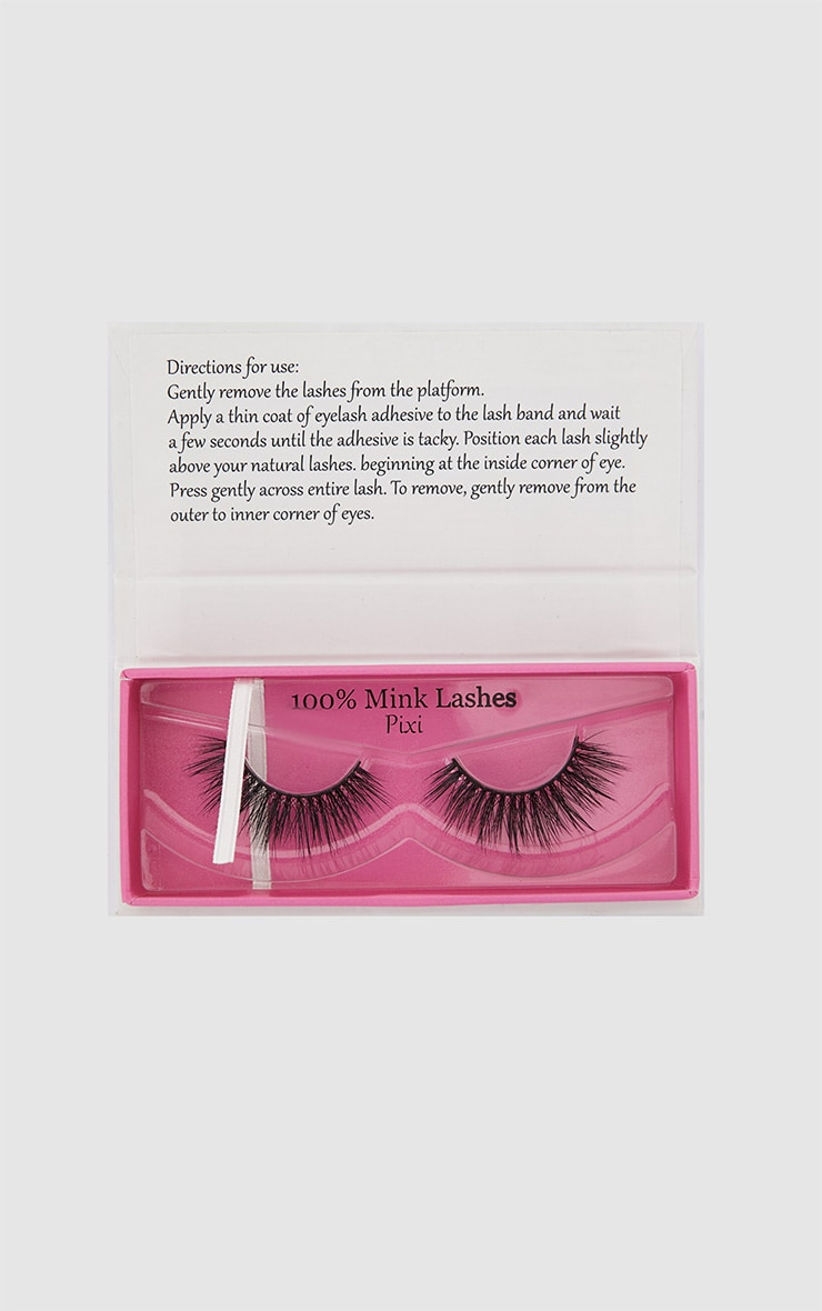 Elegance Lashes Pixi Mink Fake Eyelashes 1