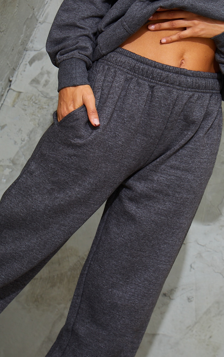 Charcoal Marl Sweat Pant Joggers 4