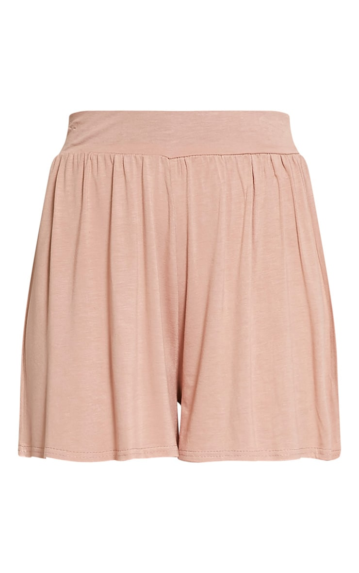Lucilla Nude Jersey Floaty Shorts 3