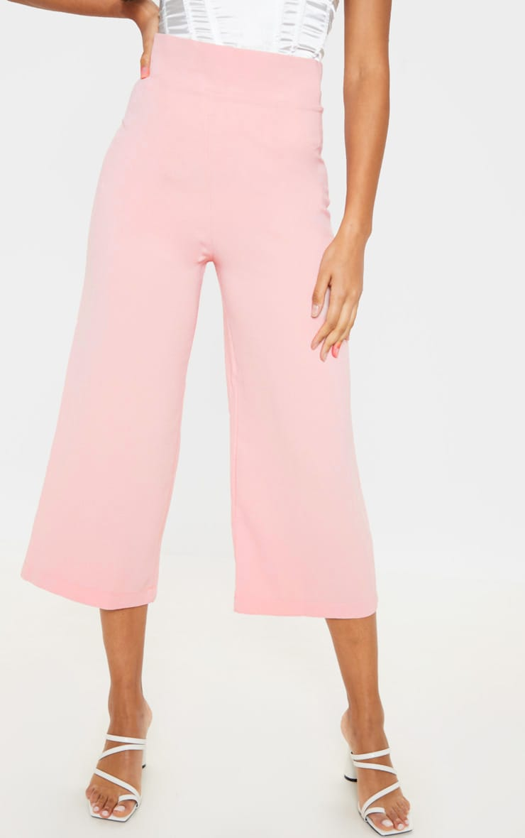 Tazmin Blush High Waisted Culottes 2