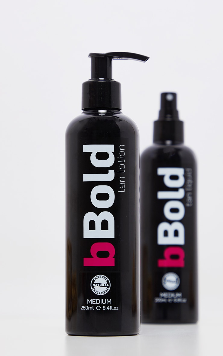 bBold Tanning Lotion Medium 250ml 3