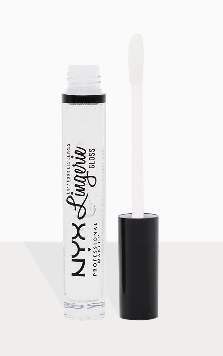 NYX PMU Lip Lingerie Gloss Clear 1
