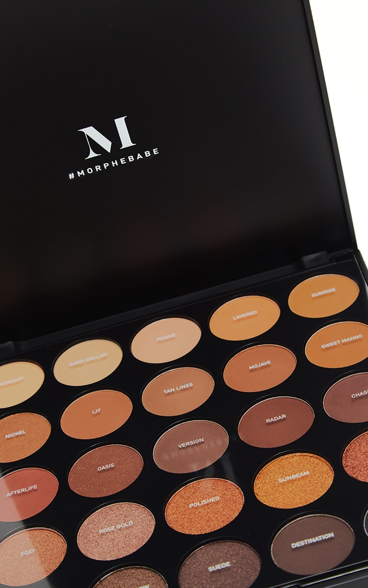 Morphe 25A Copper Spice Eyeshadow Palette 2