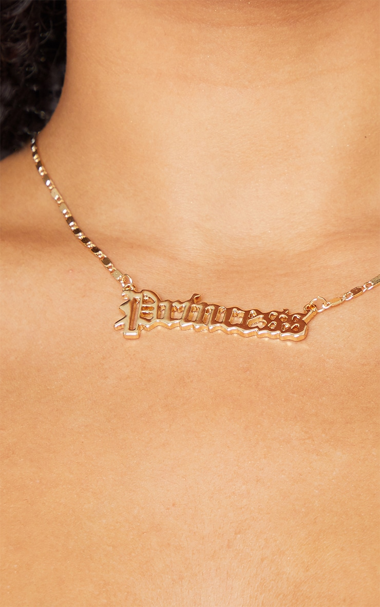 Gold Princess Necklace 2