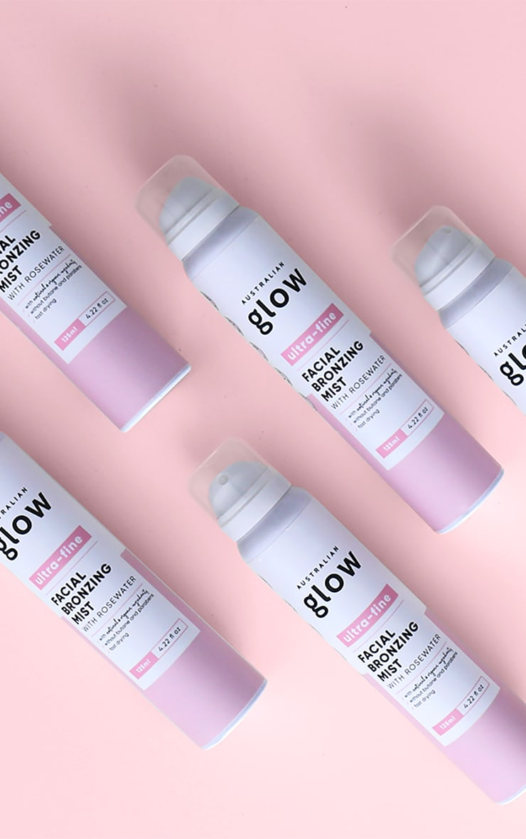 Australian Glow Facial Bronzing Mist With Rosewater 3