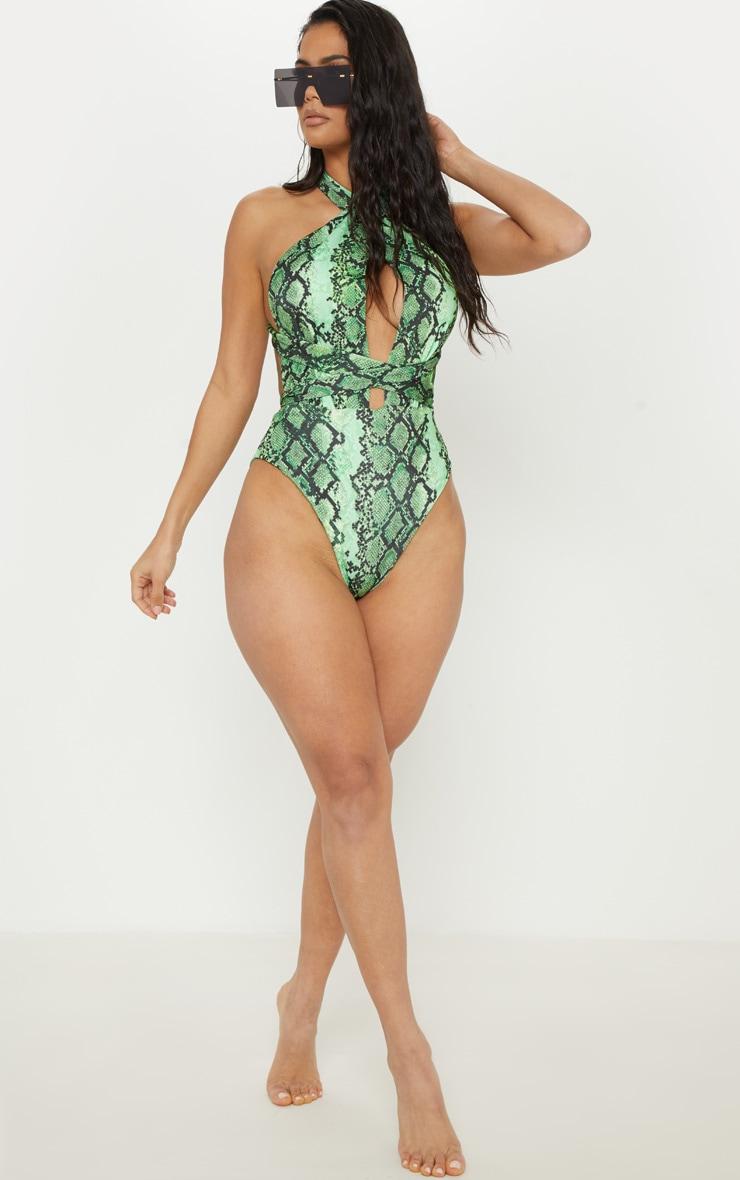Green Snake Multiway Swimsuit 7