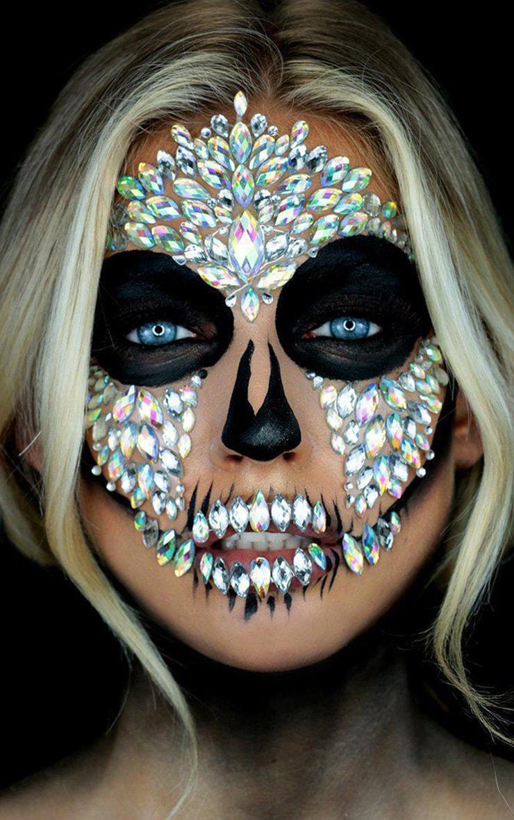 SHRINE Halloween Diamond Skull Face Jewel 2