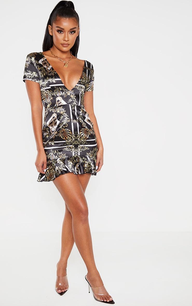 Evening long V Neck Plain Half Sleeve Bodycon Dresses women zipper