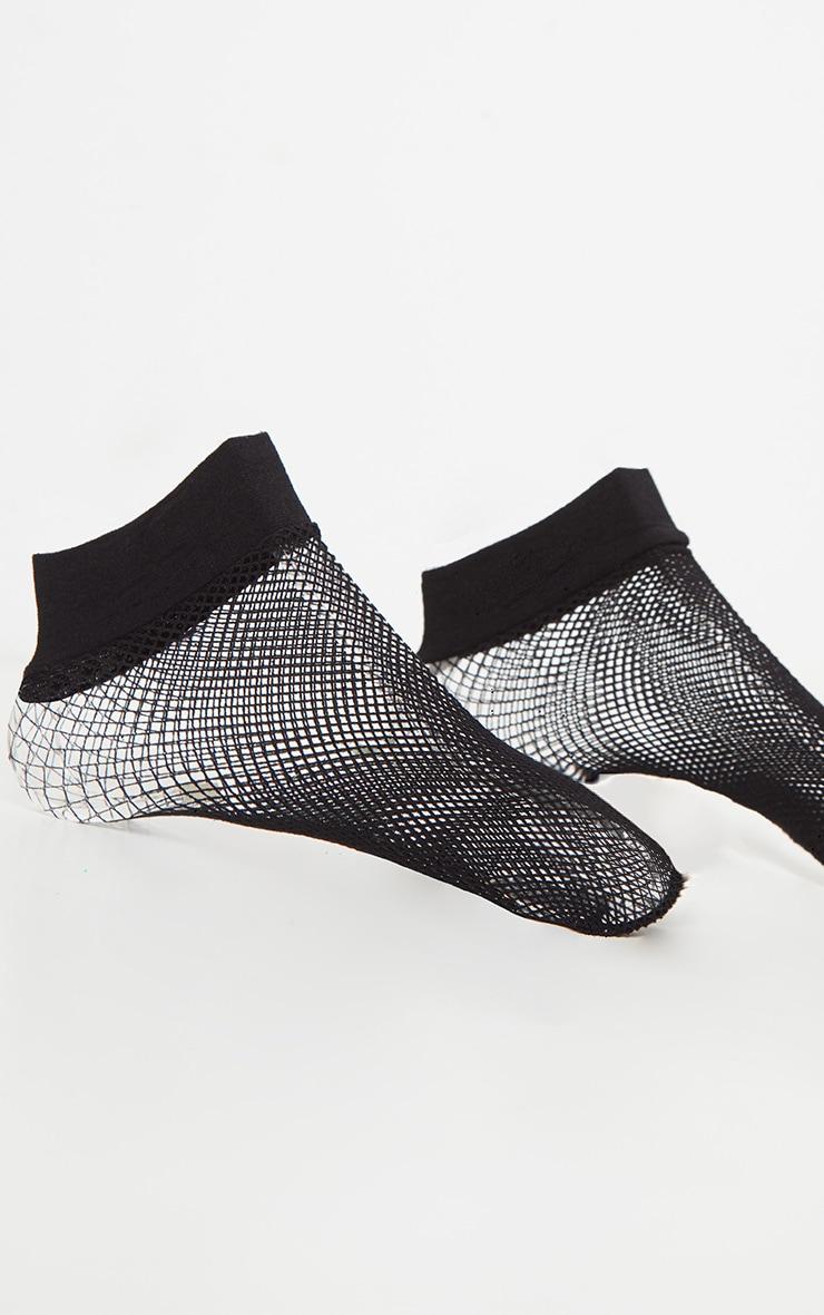 Black Fishnet Socks 3