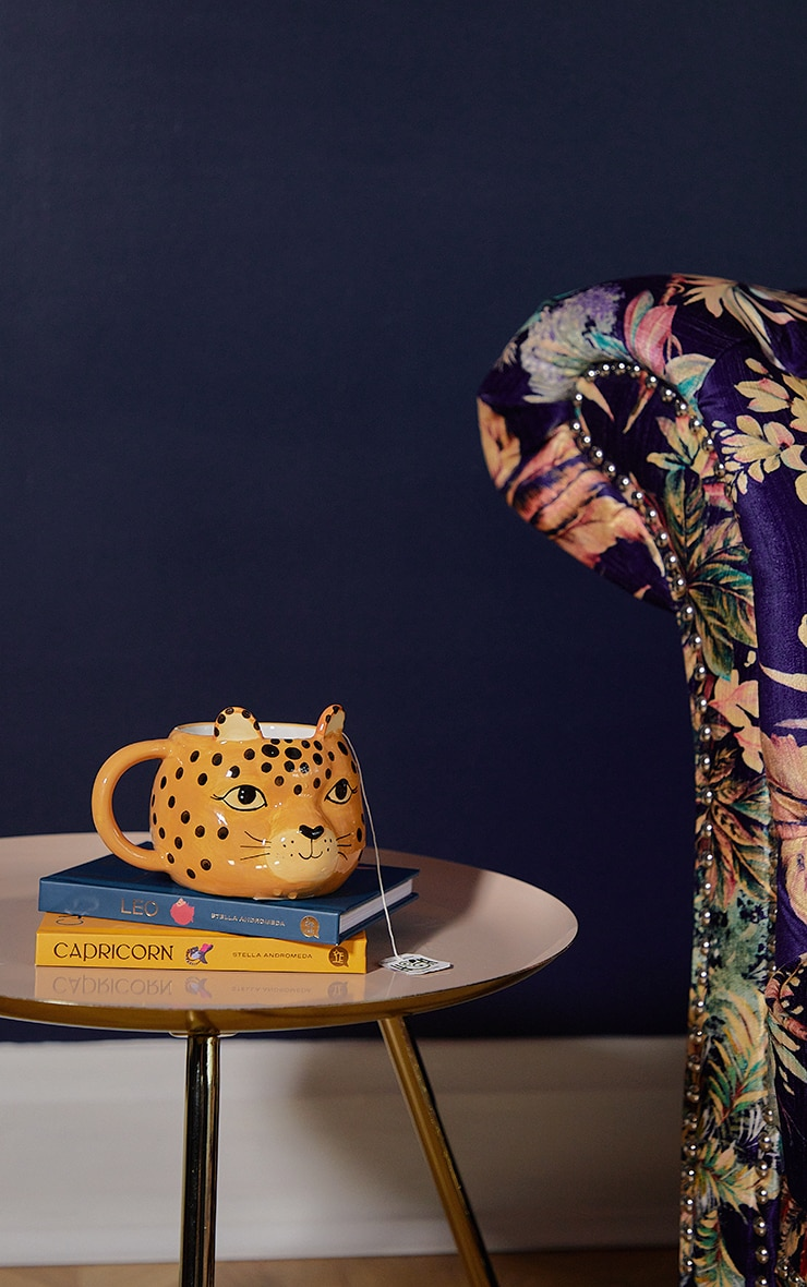 Leopard Love Shaped Mug 2