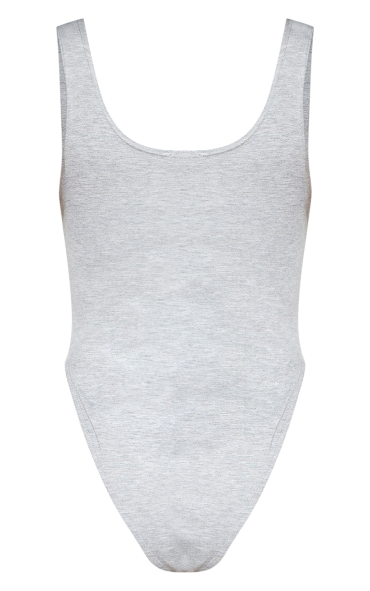 Grey Cupped Jersey Body 4