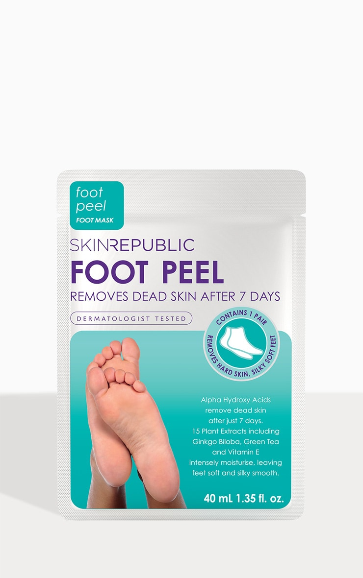 Skin Republic Foot Peel Mask 1