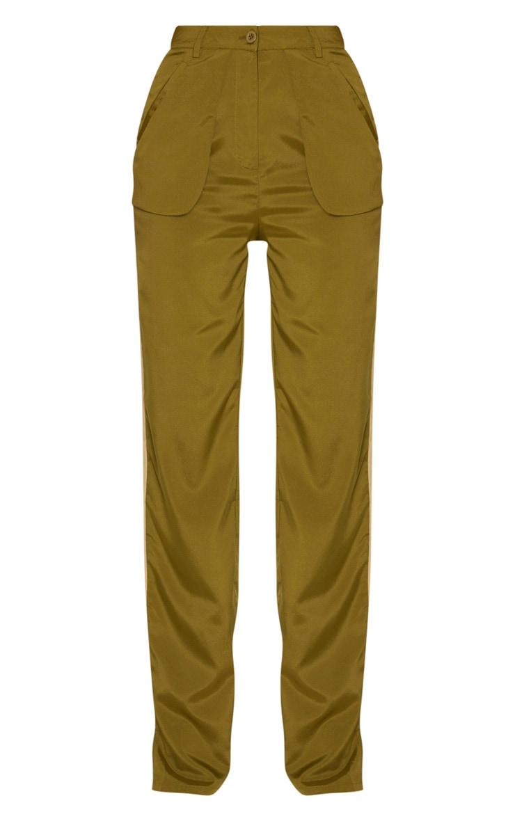 Tall Khaki Inside Out Pocket Pants 3