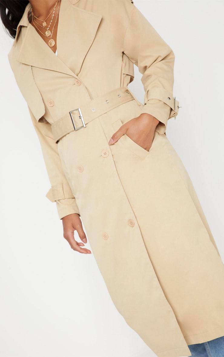 Petite - Trench coat beige 5